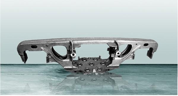 铁路货车三轴转向架焊接构架结构优化分析